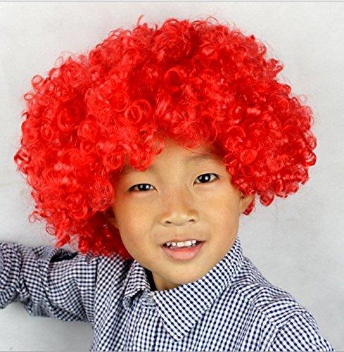 Tonpot Explosive Kopf-Perücke, für Kinder und Erwachsene, bunt, für Kostüme, Partys, Halloween, Weihnachten, Kostüm, Haarperücke, Kostüm, ()