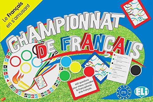 CHAMPIONNAT DE FRANçAIS (A2 B1): SPIELBRETT + ZUBEHöR