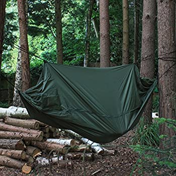 andes camping jungle hammock hiking military survival bushcraft gear camping hammock with mosquito     2 person outdoor travel      rh   amazon co uk
