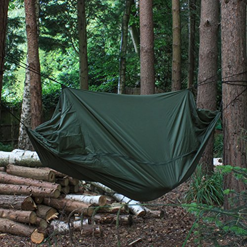 Andes C&ing Jungle Hammock Hiking Military Survival Bushcraft Gear - Survival Outdoors UK & Andes Camping Jungle Hammock Hiking Military Survival Bushcraft ...