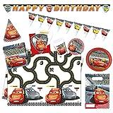Procos-Party Set Cars 3'