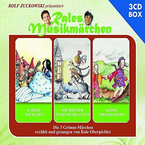 Schneewittchen,Die Bremer Stadtmusikanten,König Drosselbart