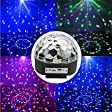 DISCO DJ STAGE LIGHTING LED RGB, USB, BLUETOOH + MANDO - BOLA DE EFECTOS 1700