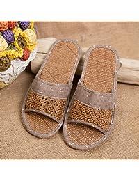 XING GUANG Sandalen Hausschuhe Flip Flops Freizeitschuhe Handgefertigte Sandalen WeiblichMale(43-44)  Male(43-44)
