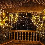 Sannysis 120 LED feenhafte Schnur Solar-LED-Birnen-Licht für Hochzeitsfest-Weihnachtsgarten Decor