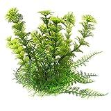 Kuenstliche Wasserpflanzen - TOOGOO(R) Dekoration Lebensecht Plastik Meer Pflanzen Wasserpflanze fuer Aquarium Fisch Tank Gruen