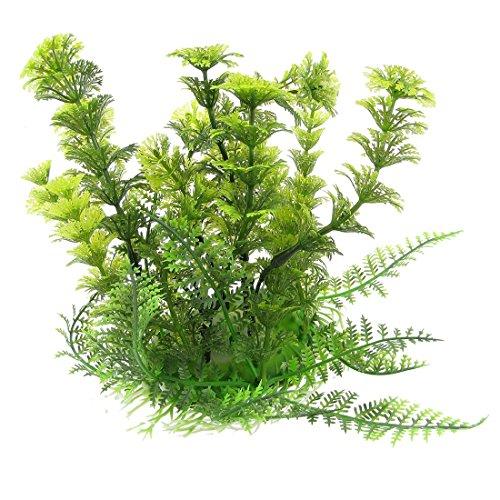 Kuenstliche Wasserpflanzen - TOOGOO(R) Dekoration Lebensecht Plastik Meer Pflanzen Wasserpflanze fuer Aquarium Fisch Tank Gruen (Fisch-aquarium Pflanzen)