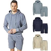 RIPT Performance Men's Ript Hooded Top and Short Loungewear Set