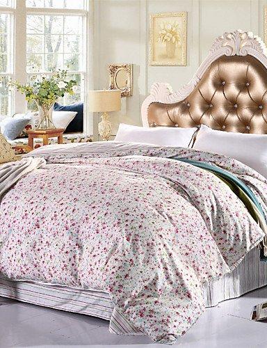 ZHUAN GAOHAIFQ®, vierteilige Anzug, 100% Baumwolle Königin Bettbezug Comfortble für Einzel- oder Doppelbettgröße, Full -