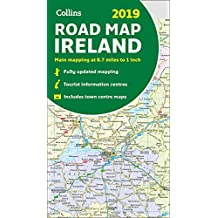 2019 Collins Map of Ireland