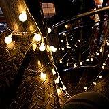 Innoo Tech Indoor Fairy Lights 100 Led Globe String Festoon Party Lighting Warm White for Patio Christmas Wedding Bedroom Bild 5