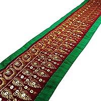 Cinta floral de la tela bordada recorte Sari Border 10,93 cm de ancho de ajuste por el patio