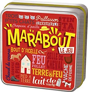 Cocktail Games - JP10N - Jeu d'Ambiance - Marabout