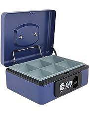 SR Metal Blue Taiwan Jewellery Box (Medium Size)