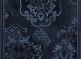 ID matt 673005Palace Barock Teppich Korridoren von Faser Polyamid, Aktionsware/Gel Latex blau 3000x 67x 0,7cm