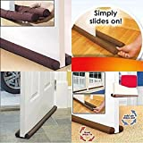 #1: Flipco Under Door Twin Draft Guard Cover Stop Light Dust Cool Air Escape Protector