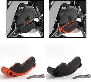 Fatexpress Motorrad Cnc Aluminium Links Motor Schutz Case Abdeckung Protector Seitenschutz Rahmen Slider Für K T M 1290 Super Duke R Gt Rc8 2011 2012 2015 2016 2017 2018 Orange Auto