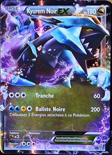 carte Pokémon 95/135 Kyurem Noir-EX 180 PV - ULTRA RARE Tempête Plasma NEUF FR