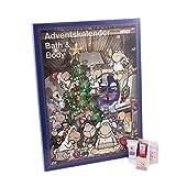 Accentra Adventskalender Beauty, 24 Advents-Überraschungen aus dem Körperpflege & Badespaß...