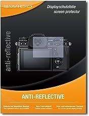Displayschutz für Fujifilm X-T3 [4 Stück] SWIDO Anti-Reflex MATT Entspiegelnd, Hoher Härtegrad, Schutz vor Öl, Staub, Fingerabdruck und Kratzer / Folie, Glasfolie, Schutzfolie, Displayschutzfolie, Panzerglas Folie, Displayfolie