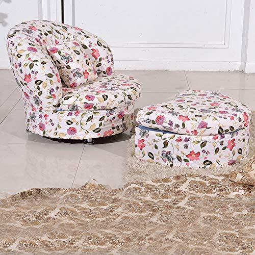 SEEKSUNG Sofa Schemel, einzelne kreative Lippen kleines Sofa Stuhl Fußbank, eine wirksame...
