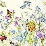 IHR Serviette Happy Butterflies 20 Stück