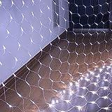 HJ®300 LEDs 4.5*1.6 m Lichternetz Weihnachten für Innen Aussen Dekoration, Weihnachten, Party, Garten, Hochzeit, Weihnachten