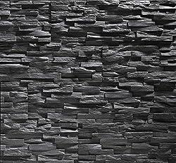 polystyrene foam tiles stone cladding UltraLight - Benevento anthracite / stone cladding / wall decor / tiles / wall cladding