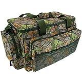 fishing tackle bag - camo carryall / holdall carp fishing, game fishing sea