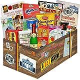 Geschenkbox XXL mit Süßigkeiten aus der DDR | Geschenkset Geburtstag für Sie