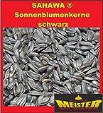 Sonnenblumenkerne schwarz 15 kg , Wintervogelfutter für freilebende Vögel
