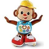 VTech - Titi Ouistiti – singe interactif – jouet singe – jouet bebe 12/36 mois – brun – Version FR