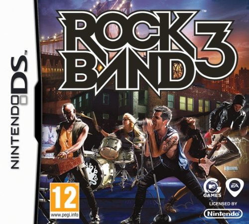 ROCK BAND 3 NDS (Rock Ds 3 Band)