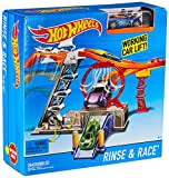 #9: Hot Wheels Rinse and Race Play Set, Multi Color