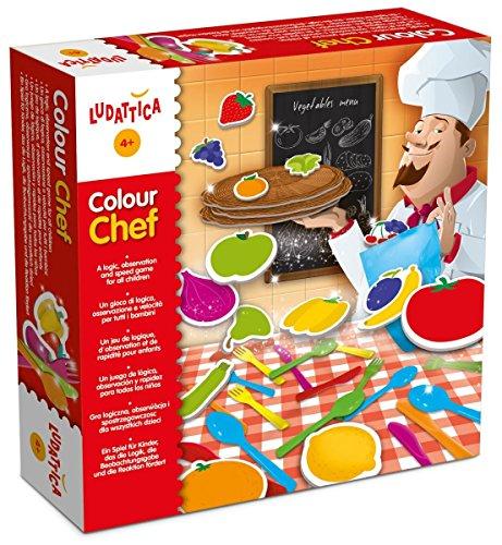 Lisciani 47147 - Colour Chef, Geschicklichkeitsspiel Preisvergleich