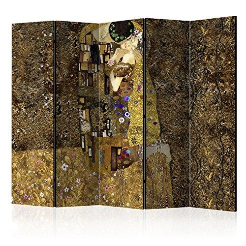 murando Paravent 225x172 cm Une Seule Côté Impression sur Toile intissée 100% Opaque Foto Paravent Décoratif en Bois avec Interieur Impression l-A-0001-z-c