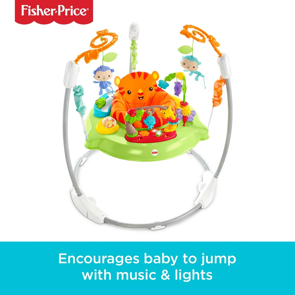 eed8996800e4 Fisher-Price CHM91 Roaring Rainforest Jumperoo