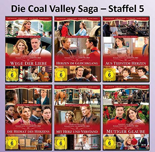 Coal Valley Saga Season 5 (6 DVDs) - Alle Teile - Komplette Staffel - Janette Oke
