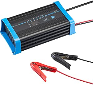 Ective 15a 12v Lithium Batterieladegerät Multiload 15 Lfp 8 Stufen Ladegerät Für Lifepo4 Batterien Auto
