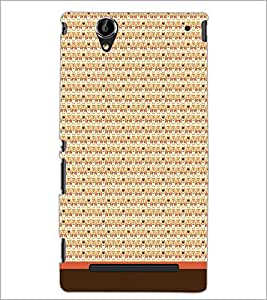 PrintDhaba Owl Pattern D-1679 Back Case Cover for SONY XPERIA T2 ULTRA (Multi-Coloured)