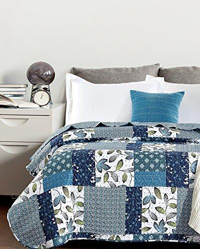 Colcha bouti microfibra estampada modelo Bormes - 'cama matrimonio' 150cm -...
