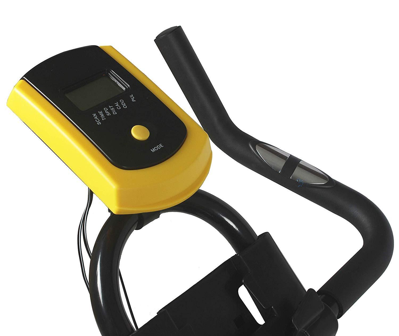 61gaex%2B9IiL - Nero Sports Upright Exercise Bike Indoor Studio Cycles Aerobic Training Fitness Cardio Bike