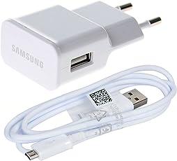 Samsung Carica batteria a muro ETAU90EWE ETA-U90EWE da viaggio in bulk pack con cavo micro USB bianco