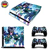 Augsburg EishockeySony PS4 Playstation-Sticker, Aufklebermaterial aus Vinyl, Fanartikel, Sportfan