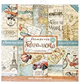 Stamperia Double-Sided Paper Pad 12'X12' 10/Pkg-Around The World, 10 Designs/2 Each