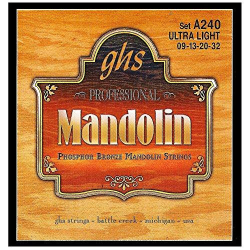 ghs A 240 ULTRA LT Mandoline String Phosphor Bronze