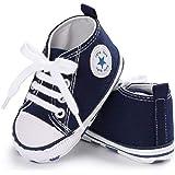 Auxma Niedlich Kind Baby Säugling Junge Mädchen weiche Sohle Kleinkind Schuhe Leinwand Sneak