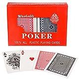 Royal 100% Plastik Poker-Karten Kunststoff-Karten Spielkarten Doppel-Deck Set