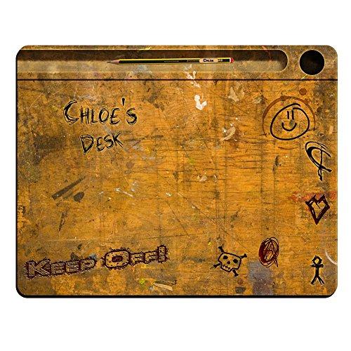 Chloe 's Schreibtisch-Vintage School Schreibtisch personalisierbar Premium Mauspad (5Dick).