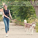 #3: Pets Empire Dog Leash Premium Dog Rope Leash for Small Medium Large Pets Premium Quality Nylon Rope 4 FT The Most Comfortable Traction Distance …1 Piece Color & Pattern May Vary (LARGE)